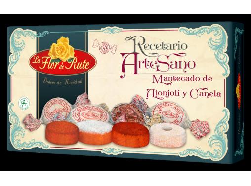 Mantecados Artesanos de Ajonjolí y Canela nº 1 - 600 gr